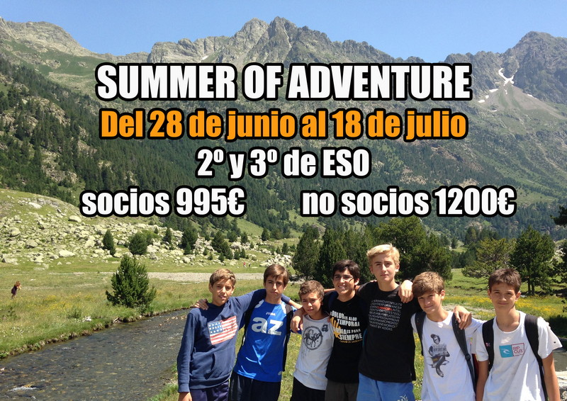 Summer Adventure (2º - 3º ESO)