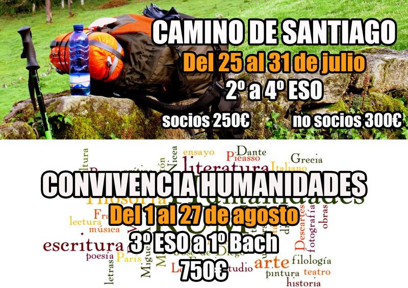 Camino de Santiago y Convivencia Humanidades